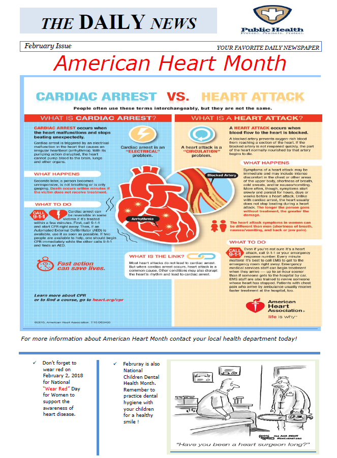 American Heart health Month!